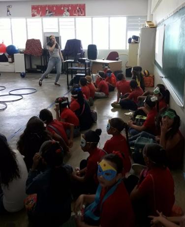 Promuevo actividades        lúdicas de aprendizaje      Esc. Elemental Camilo Valles Matienzo - Luquillo